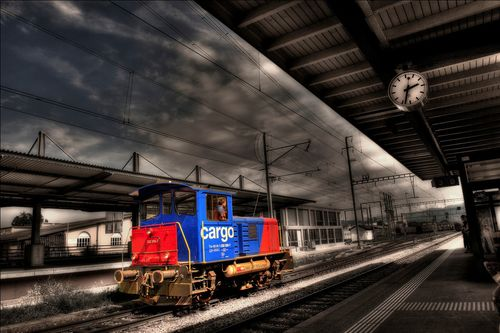 SwitzerlandTrainHDR